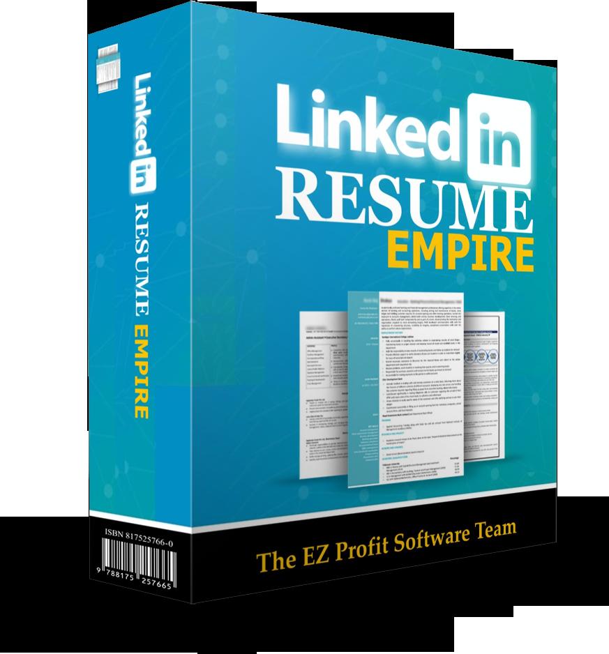 linkedin resume empire jv  u2014 ez profit software